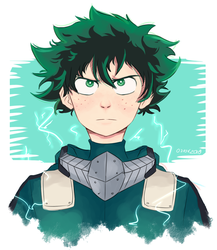 Deku AAAAA by lLinuArtl