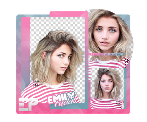 PACK PNG 275 // EMILY RUDD by ELISION-PNGS