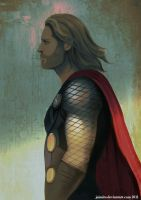 Commission: Thor by jaimito