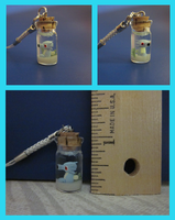 Horsea in a Bottle Charm