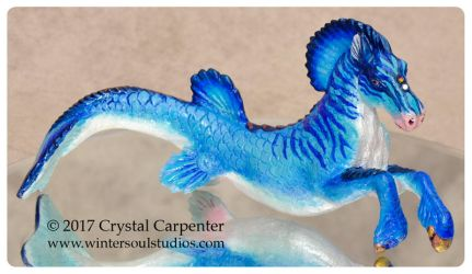 Ocean Ice Hippocamp by soulofwinter
