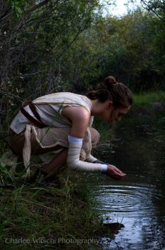 Rey - The Force Awakens by autumnicity