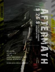 Aftermath Poster Design by Clarkology