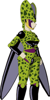Lady Cell Coloured by YugErov