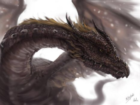 Just Another Dragon By Cglas by carlogarbarino54321