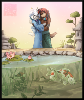 [Gift] Koi Pond by BUGHS-22