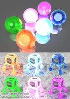 Glass Materials Pack by aNdre-W