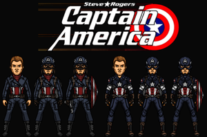 Captain America (New Earth) by Nova20X