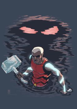 Aqualad by luilouie