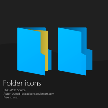 Folder Icons by aveadcore