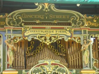 Grand Concert Street Organ 2 by cassandra28-stock