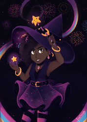 Witch of November Nights by fr00tsnak