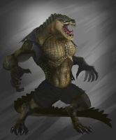Killer Croc by chiefrbc