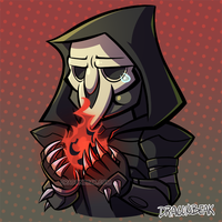 Reaper and Soul Orbs by DragonBeak