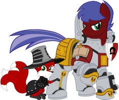 No Pony Expects the Equestrian Inquisition! by TheEditorMLP