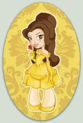 Disney Cuties - Belle by flashparade