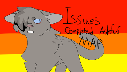 Issues Ashfur Thumbnail Contest entry (Text) by cutewolf360