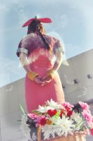 Aerith Gainsborough - Angel by Sora-Phantomhive