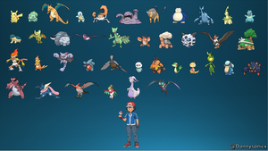 All of Ash's Pokemon