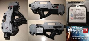 #RetakeME3 Protest Mod Nerf N7 blaster weapon by GirlyGamerAU