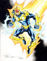 Nova Character Study 002 by ToddNauck