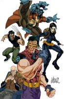 X-MEN: Ruged by mengoloid