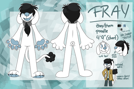 fray reference sheet v2 by arthallea