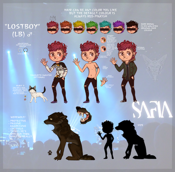 LOSTBOY - Ref sheet 2017 by NoteS28