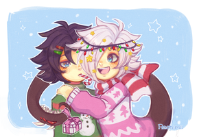 Happy Holidays! by Roshimii