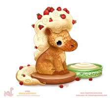 Daily Paint 1758# Mascarpony by Cryptid-Creations