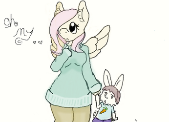oh my flat color by PrincessDemonica