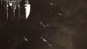Eve Online - Purist patrol by Vollhov