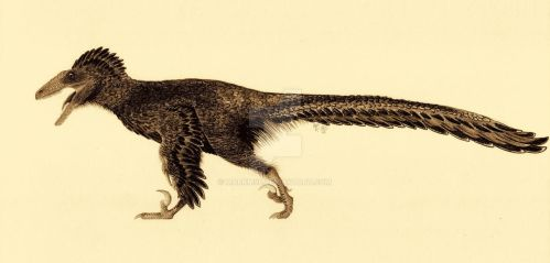 Deinonychus antirrhopus by MarkM98