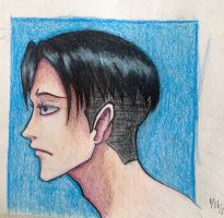 Levi Ackerman by Andailite47