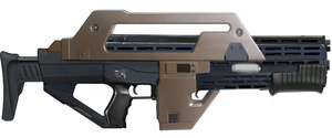 M43a1 Pulse Rifle (Aliens) by RedZaku