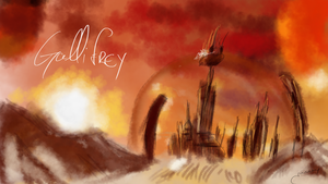 Gallifrey - Dr. Who by JhonnySilva