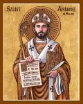 St. Ambrose of Milan icon