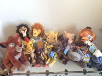 The Lion King Plush Collection by SilverphantomLX