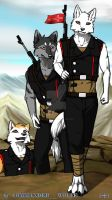 While The Day Is Dawning by COMMANDER--WOLFE