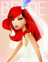 BRIDE COVER - FLOSSY LOVE by jaalondon