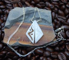 River Twins Necklace by Wyrdhaven