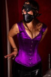 Sarah Muzzled and Cuffed by gaggedutopia