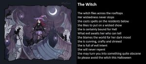 The Witch by demonrobber