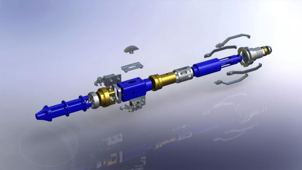 12th Doctor's New Sonic Screwdriver (Exploded) by DrOctoroc