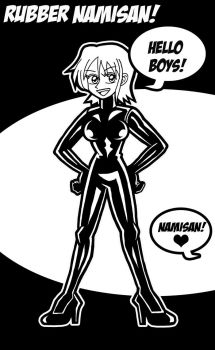 Rubber Nami by Bluedragon1974