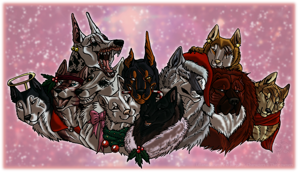 Christmas bosses by Barguest