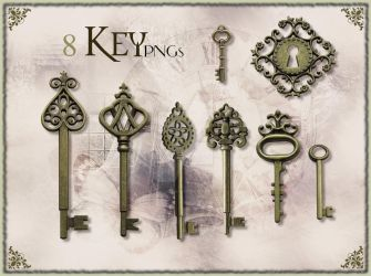 Golden Key stock pack by FrostAlexis