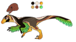 Raptor design auction [CLOSED] by TheAdoptArtist