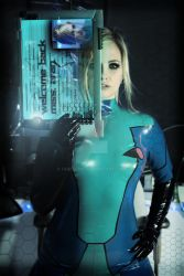 Zero Suit Samus Aran by chrisfkn