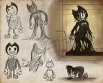 Bendy study by CPT-Elizaye